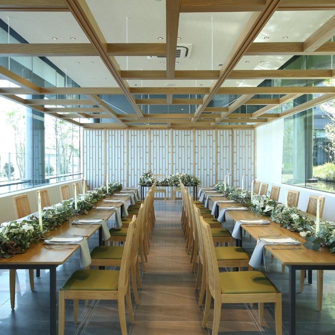 レストランウェディング 少人数披露宴 熊本駅結婚式場バンケット ザ・サウスサイド