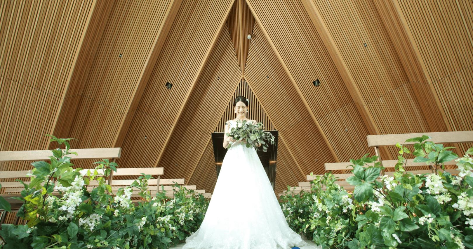熊本駅直結の結婚式場 熊本で一番新しい結婚式場 チャペル