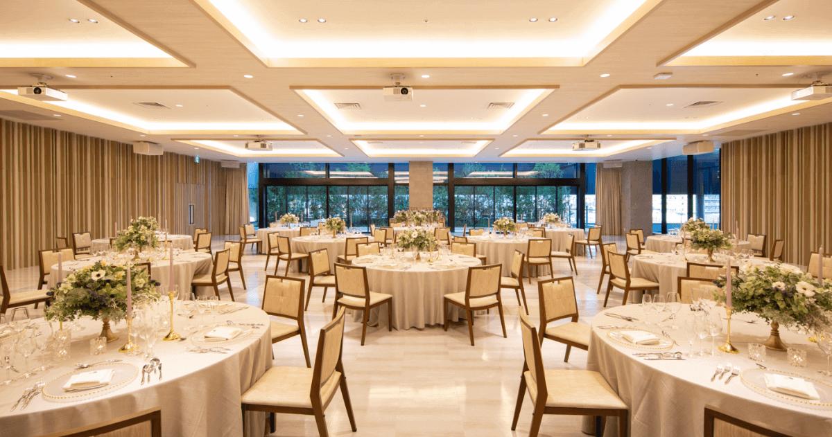 バンケット 熊本で一番新しい結婚式場 ザ・フォレストテラス熊本